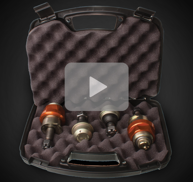 Ball Joint Kit - ships in reusable gun case