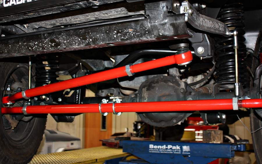 2007 wrangler front end installed steering and suspension