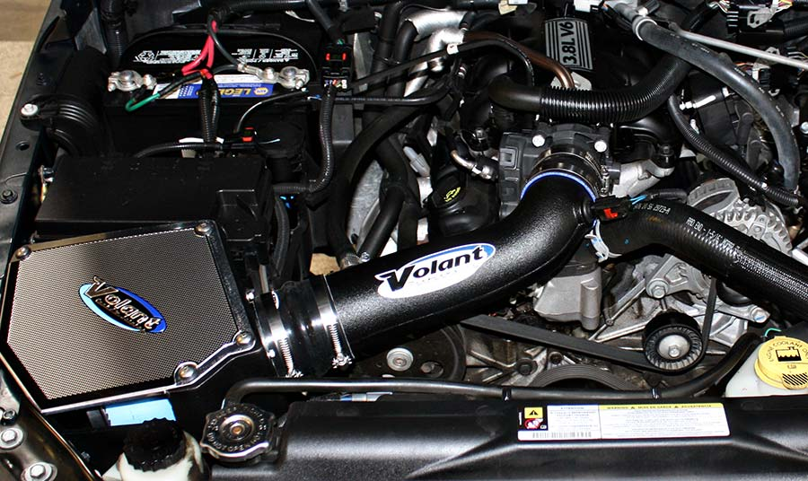 2007 jeep wrangler volant cold air intake installed