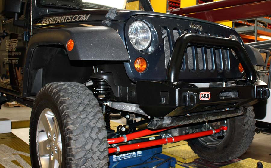 project jk jeep wrangler witha rb stubby front bumper