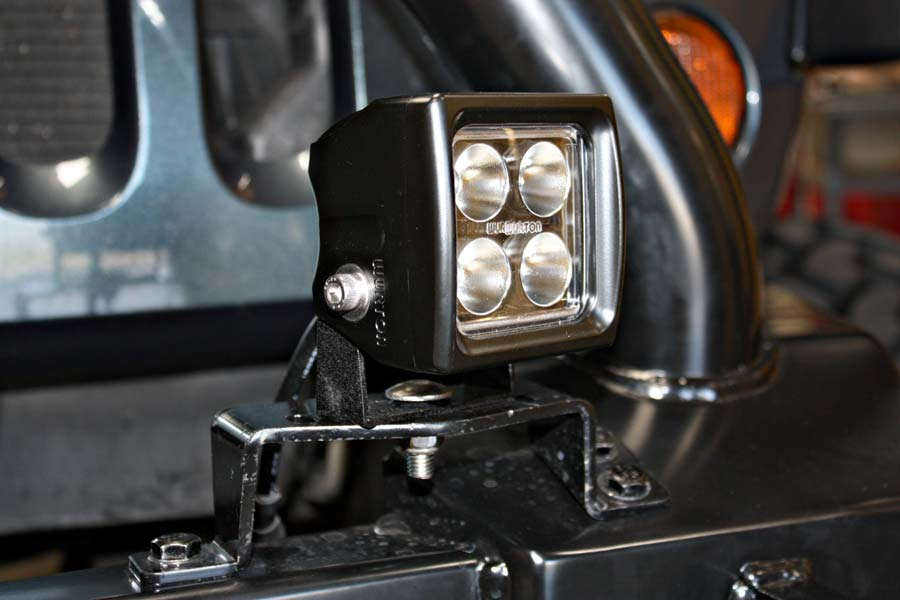 project jk wrangler wurton scout swatt led cube lights installed