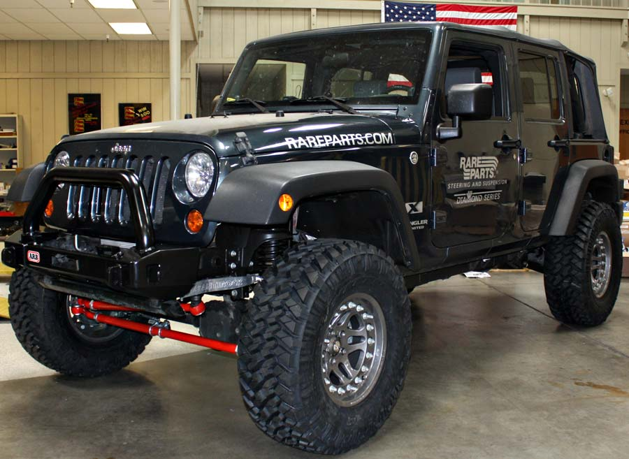 Argent Hutchinson rock monster bead lock wheels with nitto tires installed