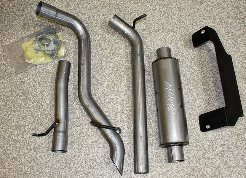 project jk 2007 jeep wrangler exhaust by MBRP